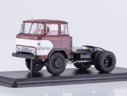 SSM KAZ-608 Kolhida Tractor Truck Four Headlights (dark red/white)