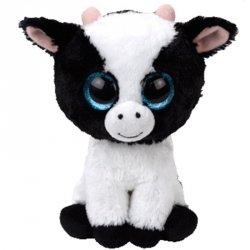 Meteor Maskotka TY Beanie Boos - Krowa, 15 cm