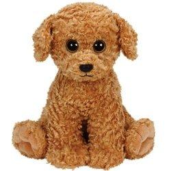TY Classic Brązowy pies Luke 33 cm Medium