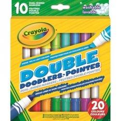 Crayola Markery dwustronne 10 sztuk