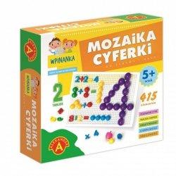 Alexander Wpinanka - mozaika Cyferki