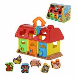 Sorter kształtów Domek dla zwierząt (pudełko)