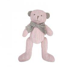Pluszak Miś Cedric różowy 20 cm