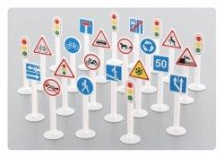 WADER-POLESIE Zestaw znaków drogowych worek