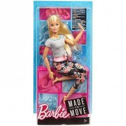 Lalka Barbie Made to Move blondynka