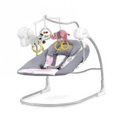 Kinderkraft Huśtawka elektryczna Minky różowa