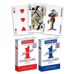 Winning Moves Karty Waddingtons No.1 Czerwone/Niebieskie