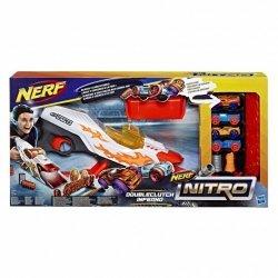 Nerf Wyrzutnia Nitro Double Clutch Inferno