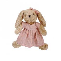 Pluszak Kólik Rosalie w różowej sukience 30 cm