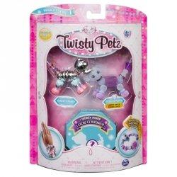Bransoletki Twisty Petz - 3-pak Słoń, szczeniaczek, lew