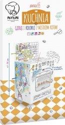 Kolorowanka przestrzenna Zabawki XXL mix wzorów, 5 sztuk, display