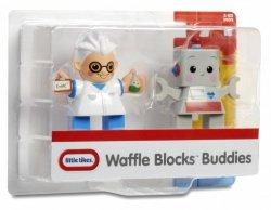 Figurki WAFFLE BLOCKS 2-pak Naukowiec i robot