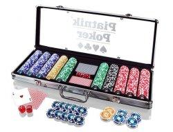 Piatnik Zestaw do pokera 500 żetonów