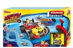Carrera Tor wyścigowy First na baterie Miki i Raźni Rajdowcy 2,9m