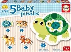Educa Puzzle Baby 14 elementów Zwierzęta domowe