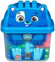 Mega Bloks Pojemnik z klockami Szczęśliwy Piesek