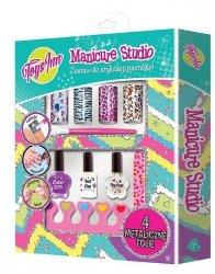 Zestaw Manicure studio z folią metaliczną