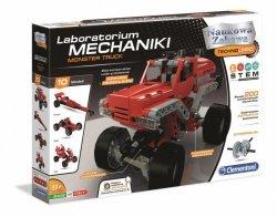 Clementoni Zestaw konstrukcyjny Laboratorium Mechaniki Monster Truck