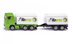Siku Ciężarówka z nadwoziem i przyczepą typu cysterna