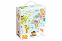 CzuCzu Puzzle 35 elementów Ale puzzle - Mapa świata