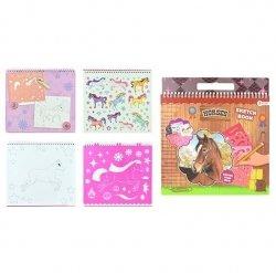 Symag Kolorowanka z szablonami MyPony Toi-Toys 46600 Top Designer
