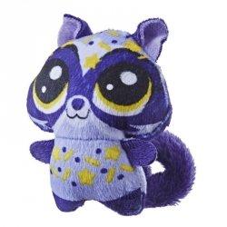 Hasbro Littlest Pet Shop Pluszowe zwierzaki soczki, Raccoon