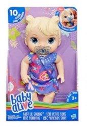 Hasbro Baby Alive Lala Słodkie dźwięki Blondynka