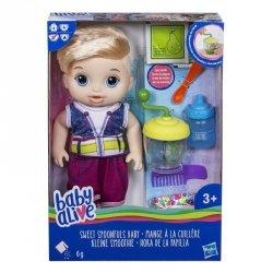 Hasbro Baby Alive Lala Słodka Przekąska Blondyn