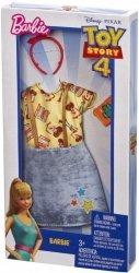 Mattel Ubranka dla Barbie Fashion zestaw FXK77