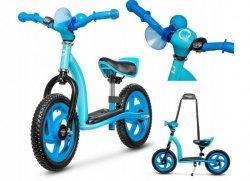 Rowerek biegowy 2w1 ROY niebieski