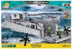 Cobi Klocki Klocki Mała Armia WS LCVP Higgins Boat 510