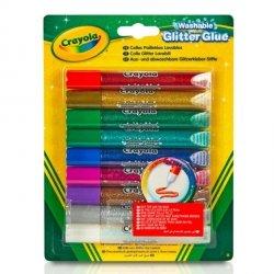Goliath Klej kolorowy brokatowy 9 sztuk Crayola