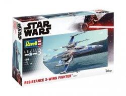 Revell Model plastikowy Star Wars Wojownik Resistance X-Wing