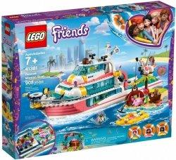 LEGO Polska Klocki Friends Łódź ratunkowa