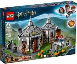 LEGO Polska Klocki Harry Potter Chatka Hagrida: na ratunek Hardodziobowi