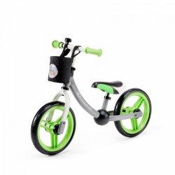 Rowerek biegowy 2way next zielony/szary