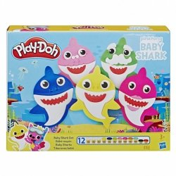 Hasbro Masa plastyczna PlayDoh Baby Shark