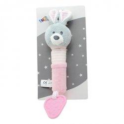 Zabawka z dźwiękiem New Baby Króliczek 17 cm