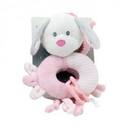 Axiom New Baby Zawieszka z dodatkami-Piesek biały