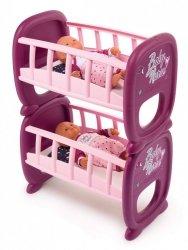 Łóżeczko piętrowe dla bliźniąt Baby Nurse
