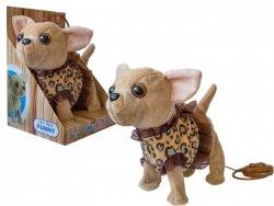 ASKATO Maskotka interaktywna Piesek Chihuahua