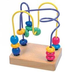 Edukacyjna zabawka koralikowa Labirynt