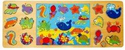 Brimarex Puzzle TOP BRIGHT 3 w 1 - Ocean