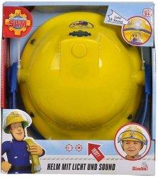 Simba Kask z mikrofonem i światłem Strażak Sam