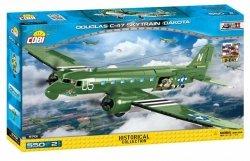Cobi Klocki Klocki Historical Collection Douglas C-47 Skytrain (Dakota) D-Day