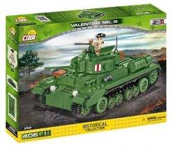 Cobi Klocki Kolcki Historial Collection Valentine Mk.III - brytyjski czołg piechoty