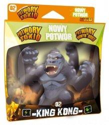 Egmont Dodatek do gier Potwory w Tokio i Potwory w Nowym Jorku - King Kong