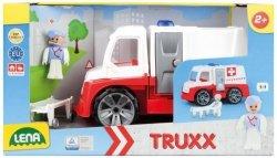 Lena Samochód Ambulans z akcesoriami w pudełku Truxx