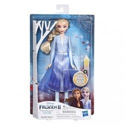 Hasbro Lalka Kraina Lodu 2 (Frozen 2) Magiczna podświetlana suknia Elsa