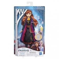 Hasbro Lalka Kraina Lodu 2 (Frozen 2) Magiczna podświetlana suknia Anna